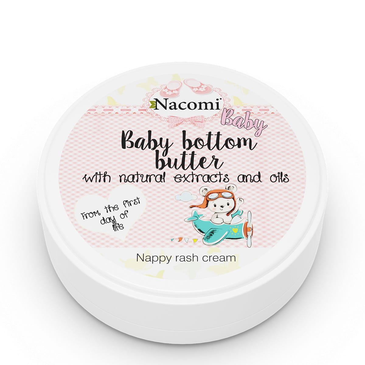 Masło na odparzenia dla niemowląt