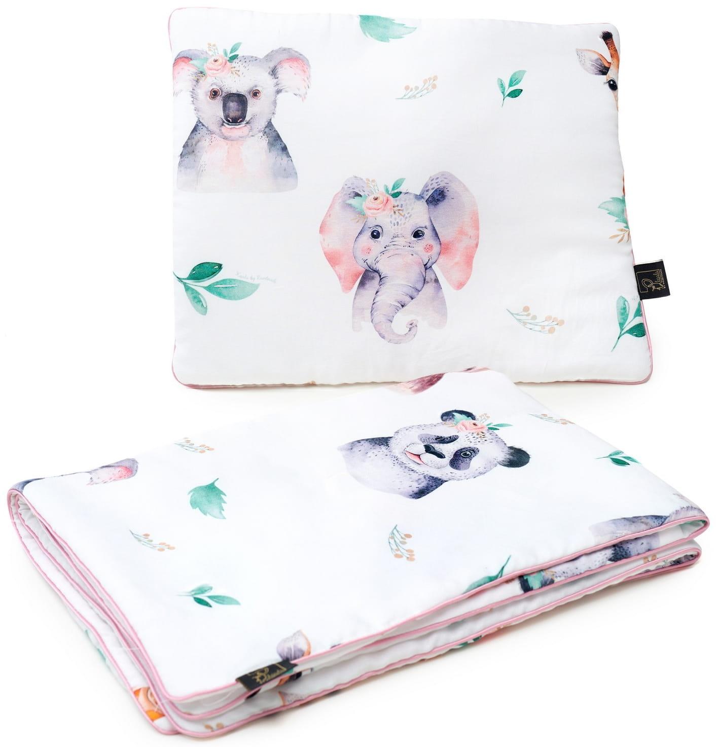 Pościel dla dziewczynki Różane Safari Koala by HeartMade